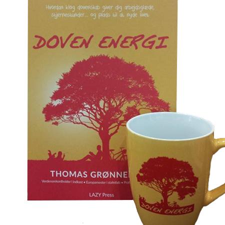 Doven energi, bog og krus
